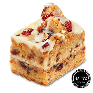 Foto Brownie cranberry blondie